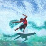 Kelly Slater 24x36 Oil on Canvas 2007