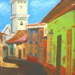 La Guaira Colonial 16x24 Oil on Canvas