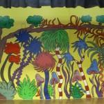 Seussical Mural at Mariners 12ftx30ft Mural